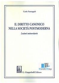 diritto canonico nella societÀ postmoderna (il)