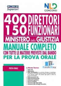 400 direttori ministero della giustizia