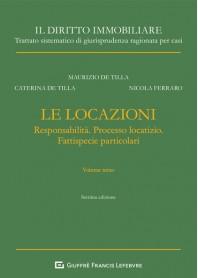 Le Locazioni Vol.III di De Tilla