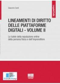 lineamenti di diritto per le piattaforme digitali. vol. 2.