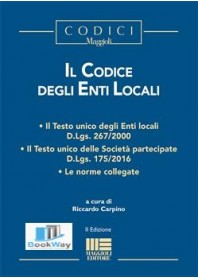 Codice Degli Enti Locali Libreriatestiuniversitari It