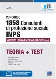 concorso 1858 consulenti di protezione sociale inps.