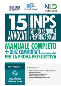 15 avvocati inps manuale+quiz commentati