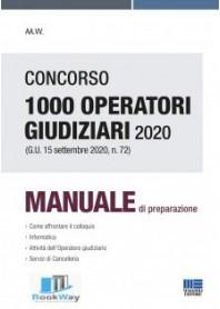 concorso 1000 operatori giudiziari 2020