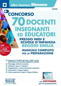 Concorso 70 Docenti Insegnanti ed Educatori Nidi e Scuole d'Infanzia Reggio Emilia Manuale