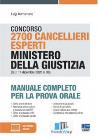 concorso 2700 cancellieri esperti ministero della giustizia