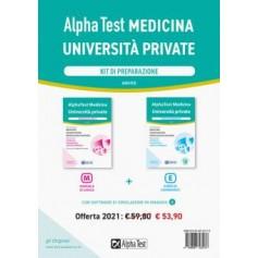 Alpha Test Cattolica , San Raffaele, Campus Biomedico Medicina Kit