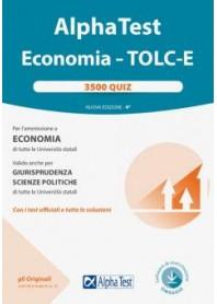 Alpha Test Economia Tolc-E 3500 Quiz