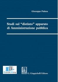 studi sul «distinto» apparato di amministrazione pubblica