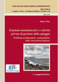 funzioni amministrative e attivitÀ private di gestione della spiaggia.