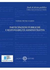 partecipazioni pubbliche e responsabilitÀ amministrativa