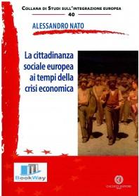 cittadinanza sociale ai tempi della crisi economica (la)