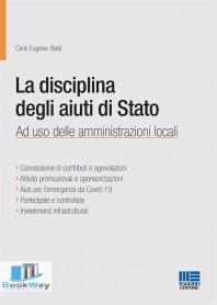 disciplina degli aiuti di stato (la).