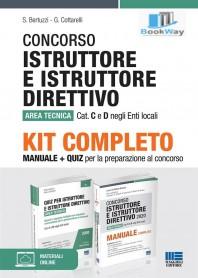 kit concorso istruttore  e istruttire direttivo