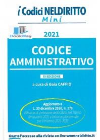 codice amministrativo mini 2021