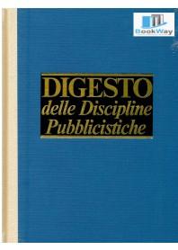 DIGESTO DELLE DISCIPLINE PUBBLICISTICHE Aggiornamento VIII