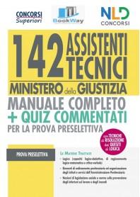 142 assistenti tecnici ministero della giustizia.