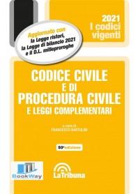 codice civile e di procedura civile e leggi complementari. vigente 2021