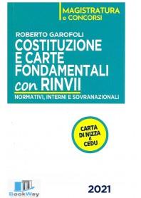costituzione e carte fondamentali con rinvii 2021