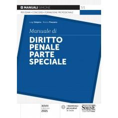 Manuale di Diritto Penale Parte Speciale di Delpino, Pezzano