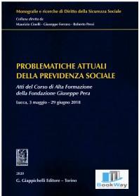 problematiche attuali della previdenza sociale