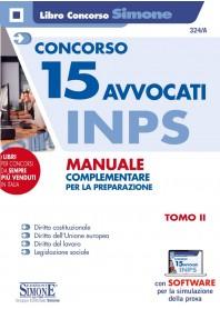 Concorsi 15 Avvocati INPS Manuale Tomo II