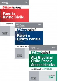 Ultimissimi Pareri Diritto Civile, Pareri Diritto Penale e Atti Giudiziari