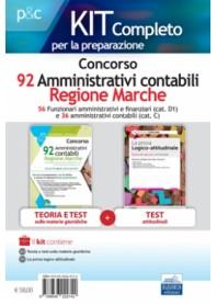 Concorso 92 Amministrativi Contabili Regione Marche Kit