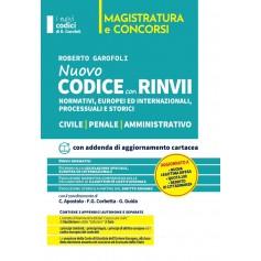 Codice Rinvii Storici Civile, Penale e Amministrativo 2021 di Garofoli