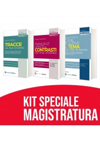 Offerta Magistratura Tracce, Tema e Contrasti Kit