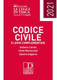 Codice Civile Pocket 2021 di Carleo, Martuccelli, Ruperto