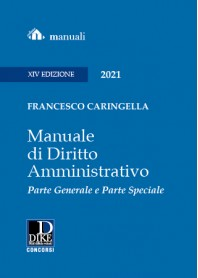 MANUALE DI DIRITTO AMMINISTRATIVO di Caringella