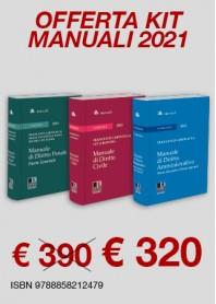 Offerte 3 Manuali Magistratura Civile, Penale Generale e Amministrativo di Caringella, Buffoni, Della Valle, De Palma