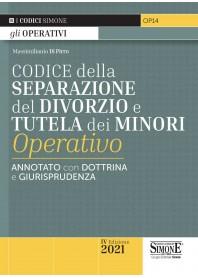 Codice della Separazione del Divorzio e Tutela dei Minori Operativo