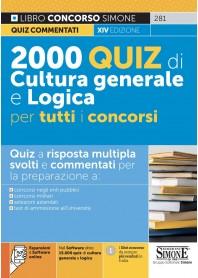 2000 Quiz di Cultura Generale per Tutti i Concorsi