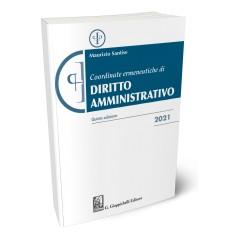 Coordinate Ermeneutiche Diritto Amministrativo di Santise