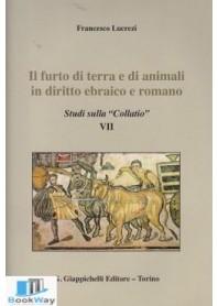 furto di terra e di animali in diritto ebraico e romano