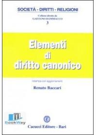 elementi di diritto canonico