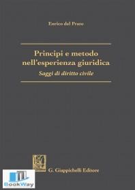 principi e metodo nell'esperienza giuridica