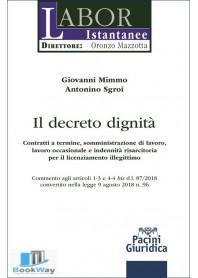 il decreto dignita'