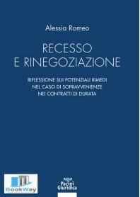 recesso e rinegoziazione
