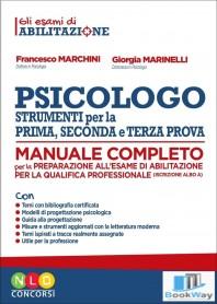psicologo - strumenti per la prima, seconda e terza prova