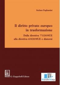 diritto privato europeo in trasformazione
