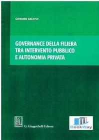 governance della filiera tra intervento pubblico e autonomia privata