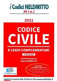codice civile mini 2021