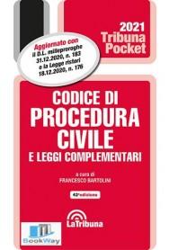 codice di procedura civile e leggi complementari pocket 2021