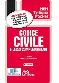 codice civile e leggi complementari pocket 2021