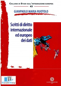 scritti di diritto internazionale ed europeo dei dati