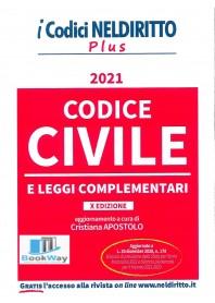 codice civile plus 2021