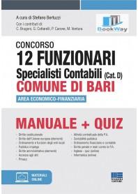 concorso 12 funzionari specialisti contabili (cat. d) comune di bari
